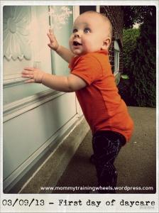Oh mom, daycare was so fun!