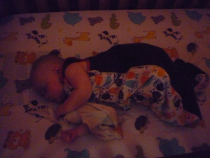 Isn't a sleeping baby the cutest thing!
