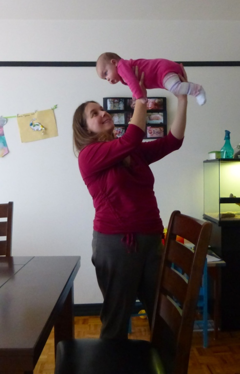 Doing the Superbaby!
