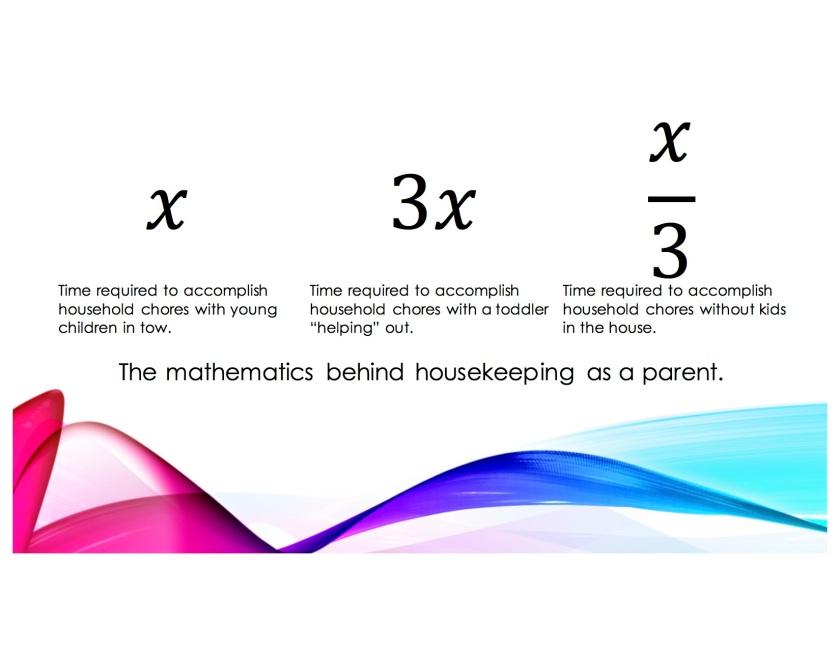 Mathematics behind housekeeping